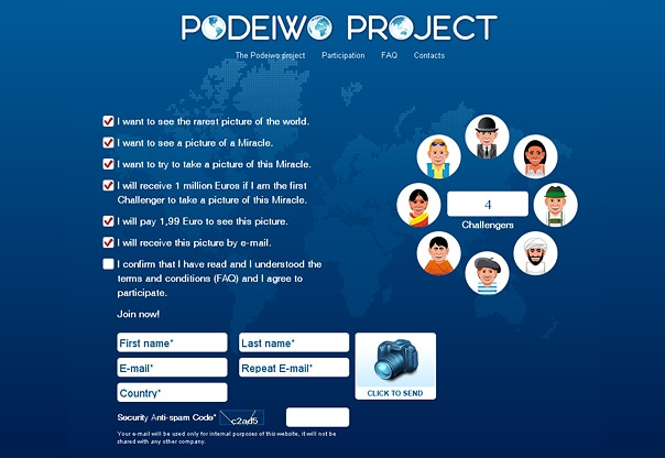 Podeiwo Project Website