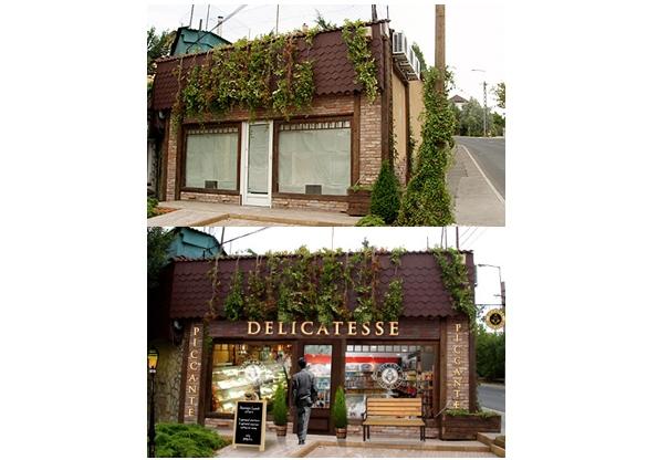 Piccante Delicatesse Store Exterior Design