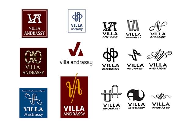 Logo Design Villa Villa Andr Ssy Logo Design